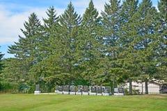 Cementerio de Waterloo foto de archivo