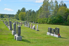 Cementerio de Waterloo Fotografía de archivo libre de regalías