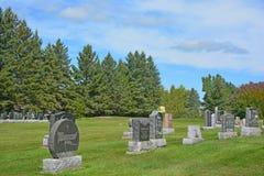 Cementerio de Waterloo Imágenes de archivo libres de regalías