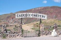 Cementerio del calicó Fotos de archivo libres de regalías