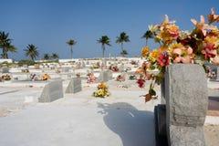 Cementerio del Caribe imagen de archivo libre de regalías