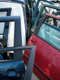 Cementerio del coche imagen de archivo libre de regalías