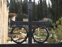 Cementerio 2015 del monte de los Olivos Foto de archivo