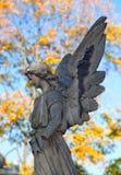 Cementerio del otoño Fotos de archivo