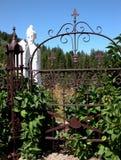 Cementerio del pueblo fantasma Imágenes de archivo libres de regalías