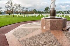 Cementerio del sur Mer de Colleville Foto de archivo libre de regalías