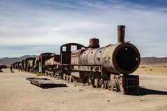 Cementerio del tren Imagen de archivo