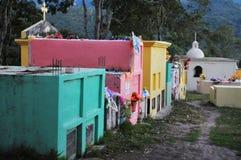 Cementerio en Copan Imagen de archivo libre de regalías