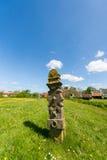 Cementerio en el holandés Terschelling Imágenes de archivo libres de regalías