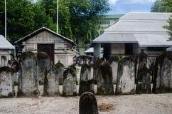 Cementerio en Maldivas Foto de archivo libre de regalías