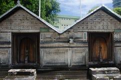 Cementerio en Maldivas Imagenes de archivo