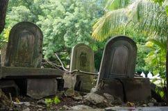 Cementerio en Maldivas Imagen de archivo libre de regalías