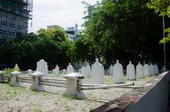 Cementerio en Maldivas Fotografía de archivo