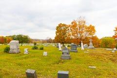 Cementerio en Pennsylvania Fotos de archivo libres de regalías