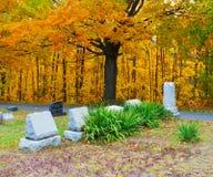 Cementerio en Pennsylvania Imágenes de archivo libres de regalías