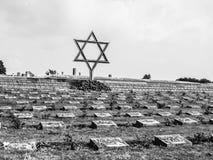 Cementerio en Terezin foto de archivo libre de regalías