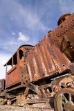 Cementerio en Uyuni, Bolivia del tren. Imagen de archivo