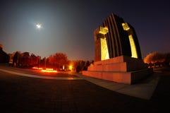 Cementerio en Vukovar Fotografía de archivo