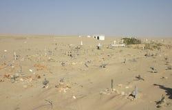 Cementerio enterrado, Angola Imágenes de archivo libres de regalías