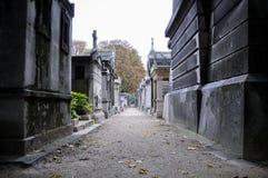 Cementerio francés en montmartre Fotos de archivo