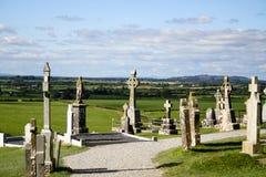 Cementerio gaélico Fotografía de archivo