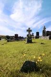 Cementerio irlandés 3 Fotografía de archivo libre de regalías