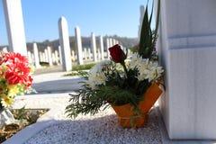 Cementerio islámico Fotografía de archivo