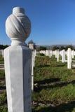 Cementerio islámico musulmán Imagen de archivo