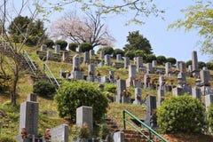 Cementerio japonés fotos de archivo libres de regalías