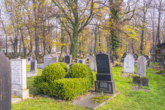 Cementerio judío Fotos de archivo