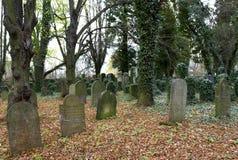 Cementerio judío Foto de archivo