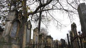 Cementerio judío abandonado metrajes