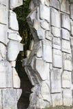 Cementerio judío en Kazimierz Dolny, pared que se lamenta, Czerniawy, Polonia fotos de archivo