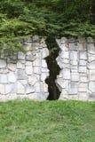 Cementerio judío en Kazimierz Dolny, pared que se lamenta, Czerniawy, Polonia fotografía de archivo libre de regalías