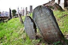 Cementerio judío en Nova del ¡de Lomnice u TiÅ Fotos de archivo