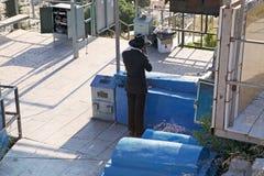 Cementerio judío viejo Imágenes de archivo libres de regalías