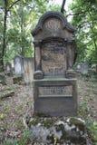 Cementerio judío viejo imagen de archivo