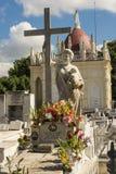Cementerio La Habana de los dos puntos Imagen de archivo libre de regalías