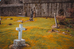 Cementerio medieval Imagenes de archivo