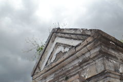 Cementerio melancólico Fotos de archivo libres de regalías