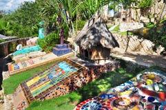 Cementerio mexicano Imágenes de archivo libres de regalías