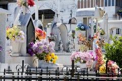 Cementerio mexicano. Fotografía de archivo libre de regalías