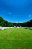 Cementerio militar Fotos de archivo