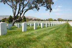 Cementerio militar Fotografía de archivo