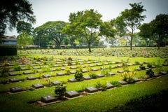 Cementerio militar aliado Fotografía de archivo