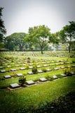Cementerio militar aliado Foto de archivo