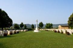 Cementerio militar británico Foto de archivo libre de regalías