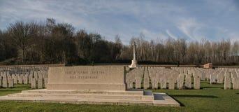 Cementerio militar en Francia (WW1) Imágenes de archivo libres de regalías