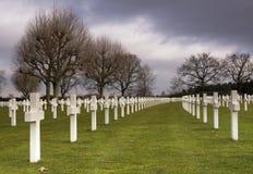 Cementerio militar Margraten de la guerra fotos de archivo libres de regalías