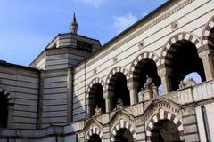 Cementerio monumental, Cimitero Monumentale, Milán imagen de archivo libre de regalías